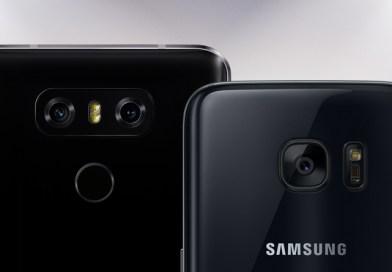 Foto porównanie LG G6 vs Galaxy S7