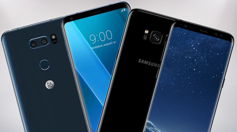 LG V30 vs Samsung Galaxy S8 foto porównanie