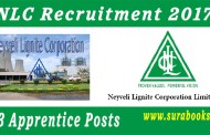 NLC Recruitment 2017 453 Apprentice Posts