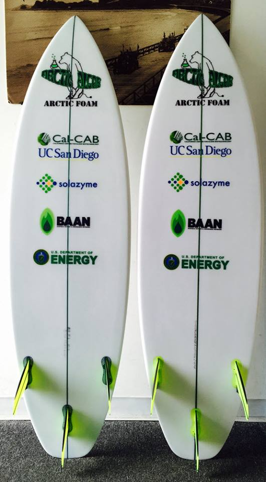 arctic foam algae surfboard - Comment devenir un surfeur écolo ?