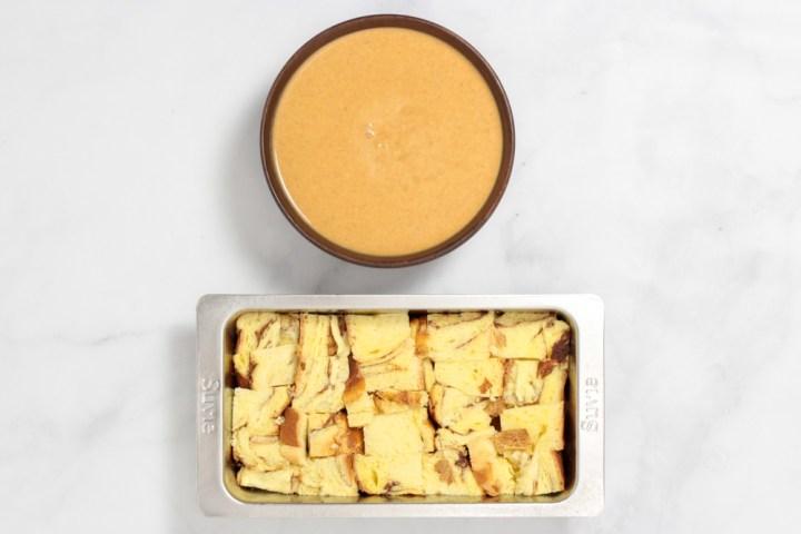 Pumpkin Bread Pudding-746