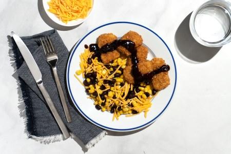 BBQ Fried Chicken Bowl