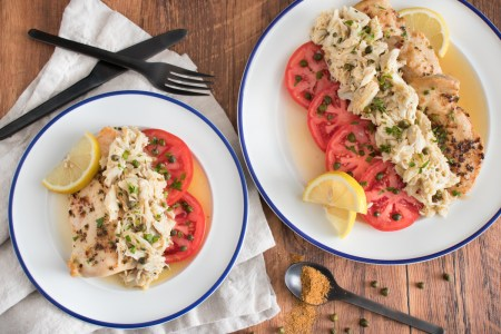 Chicken Chesapeake with Tomatoes and Capers