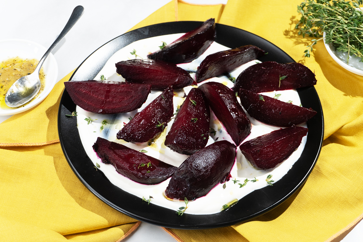The Best Roast Beets