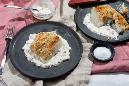 Crispy Cod with Tartar Sauce
