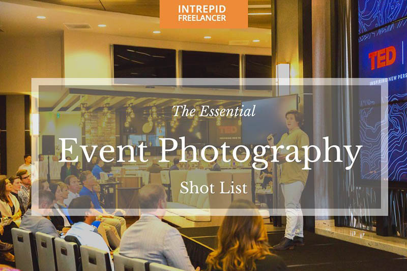 Event Photography Shot List Template