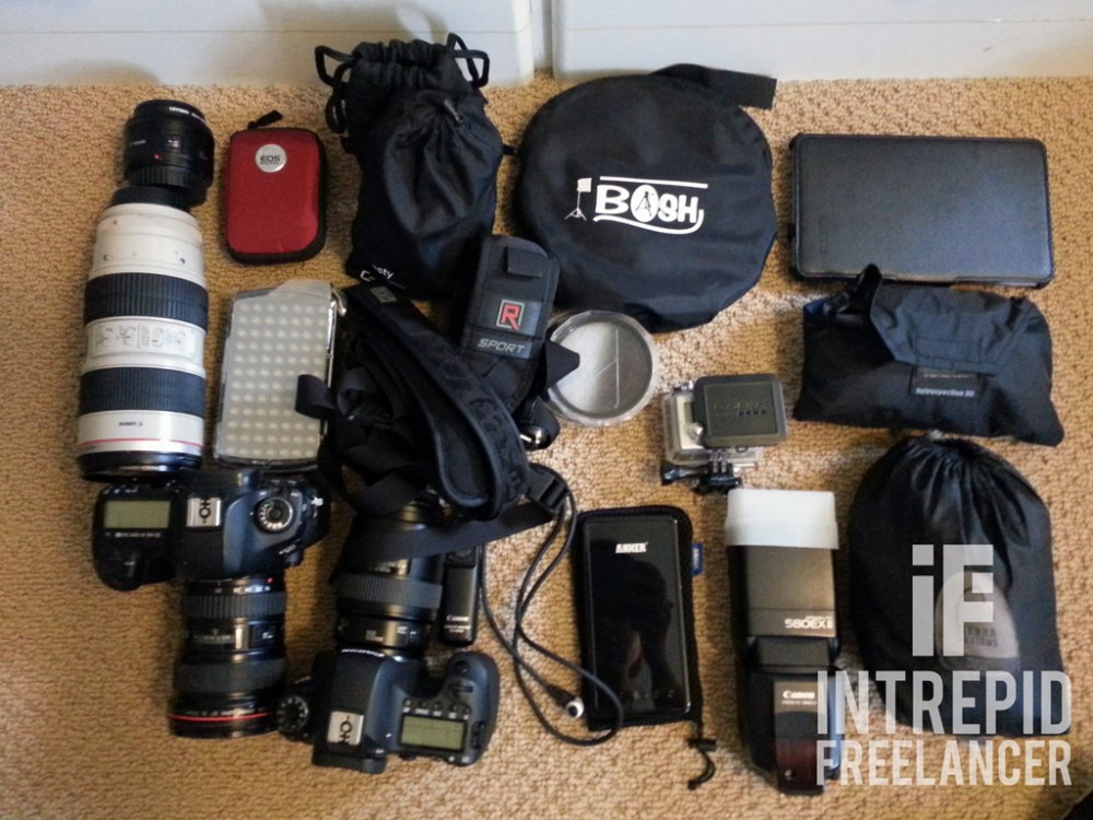 Packing camera gear for travel