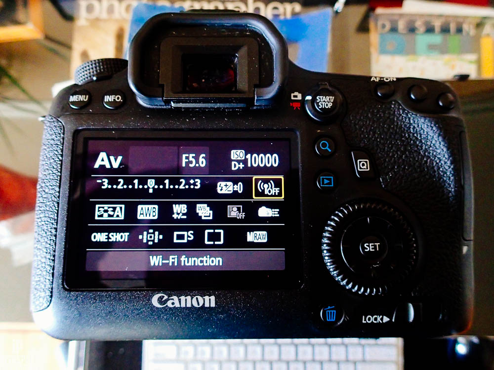 Canon DSLR Wifi manual