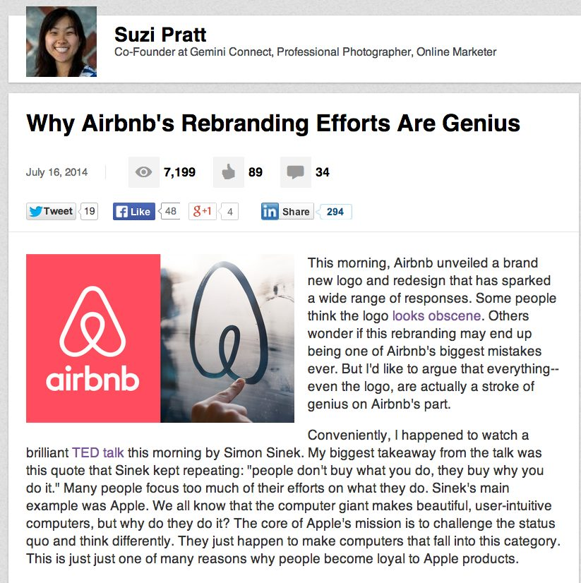 Why Airbnb's rebranding logo and website are genius