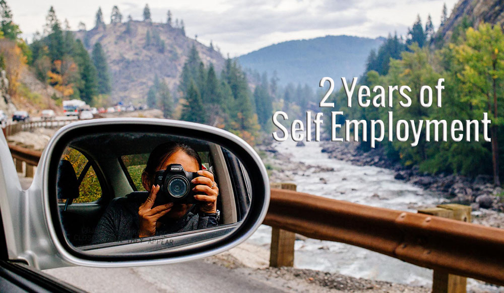 2 years of self employment