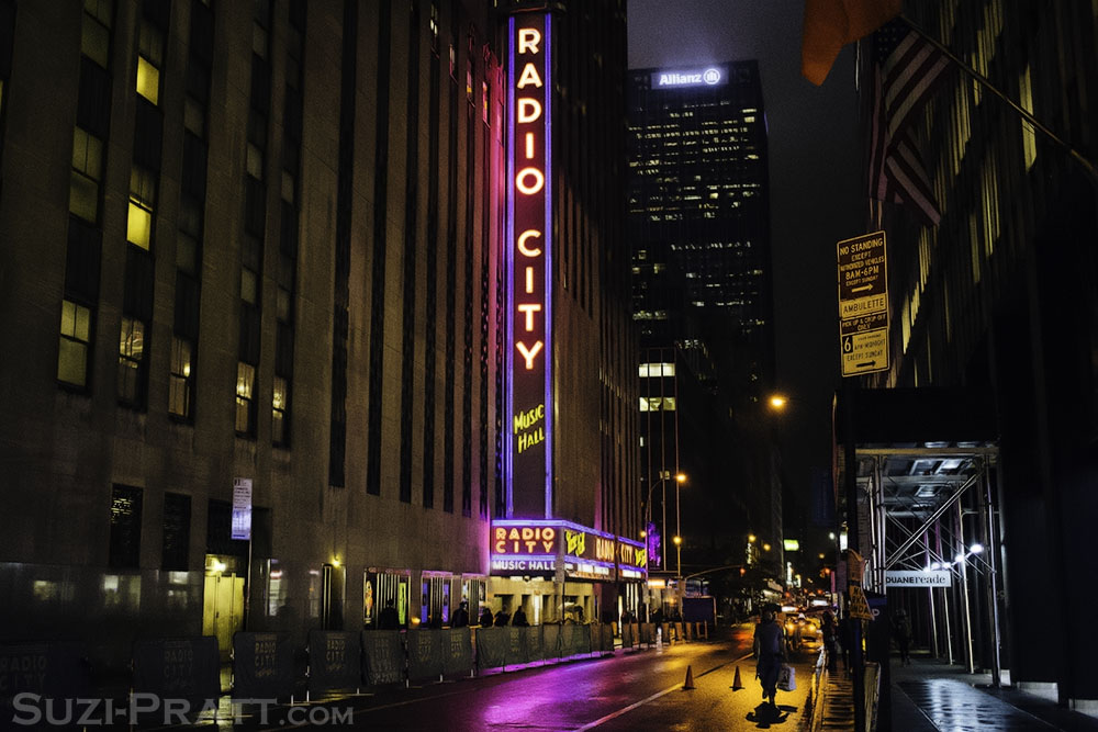 Radio City Music Hall in New York City in Fall 2014