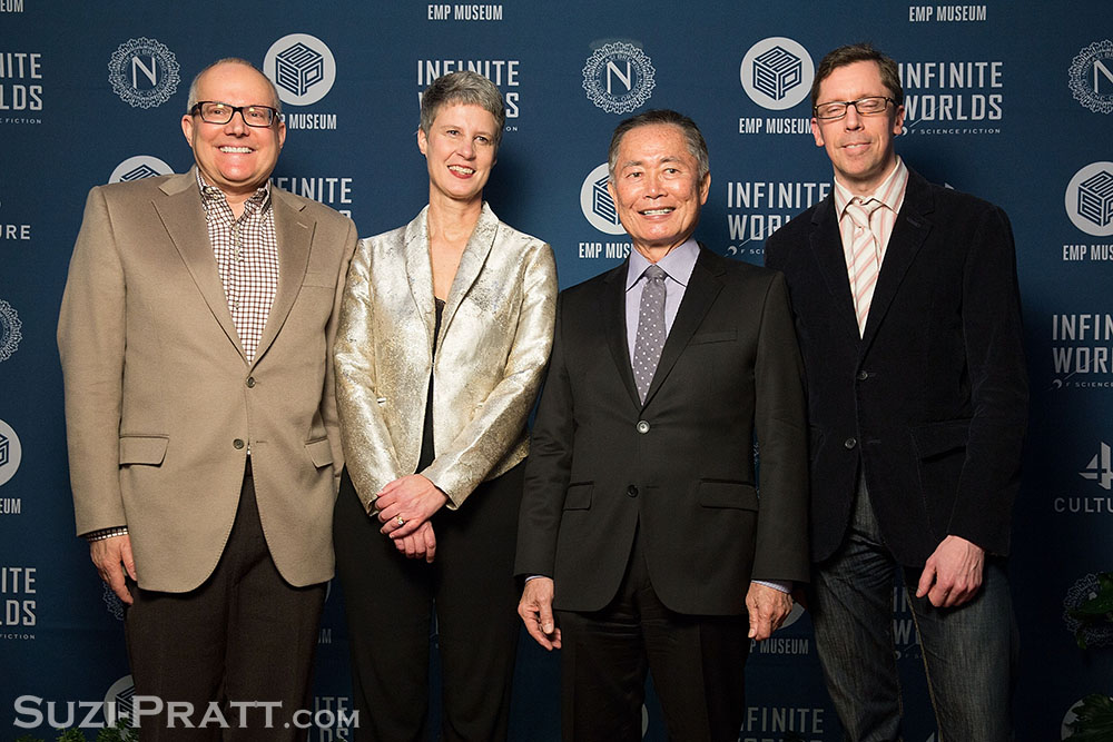 """Opening Night Of EMP Museum's """"Infinite Worlds Of Science Fiction"""" Exhibit George Takei"""