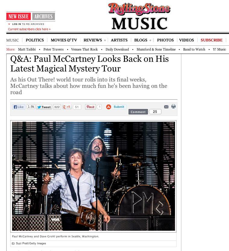 Suzi Pratt Rolling Stone