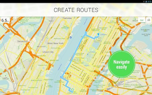 Best free travel app Map navigation