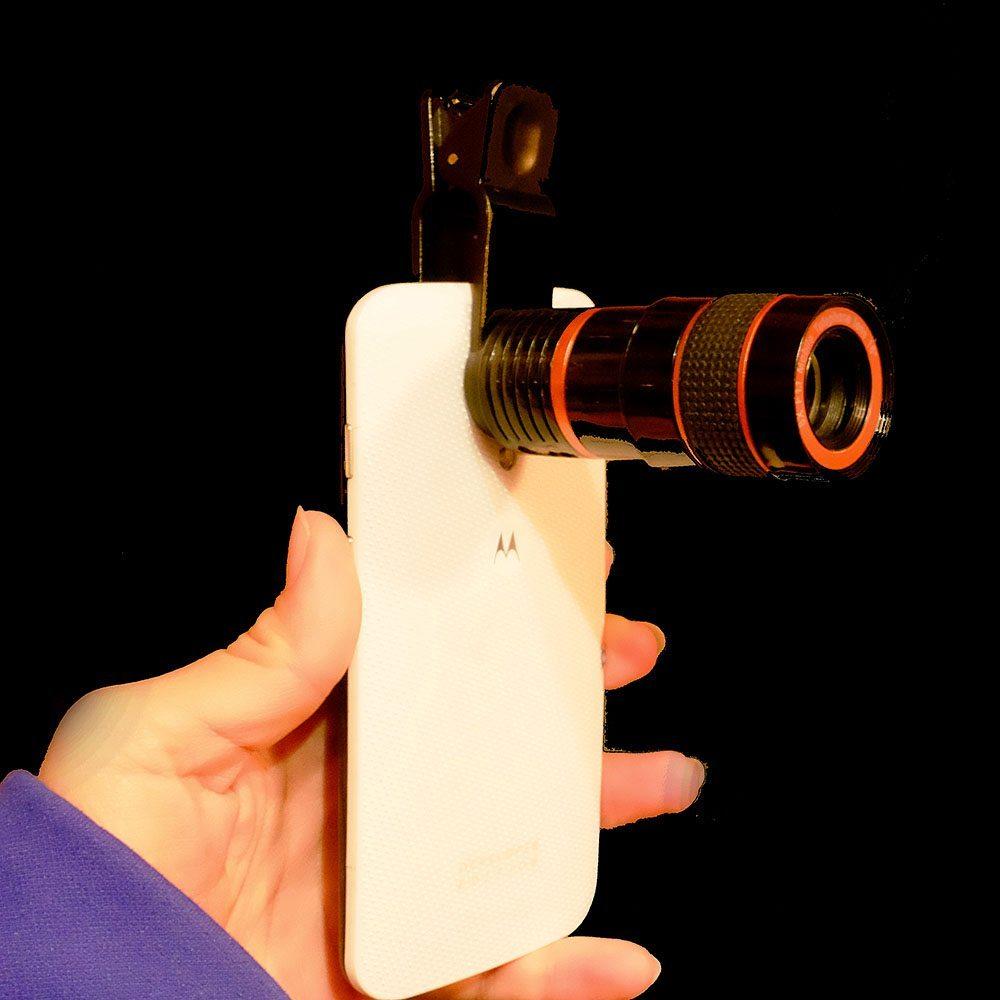 Smartphone Camera Telephoto Lens