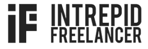 Intrepid Freelance blog logo