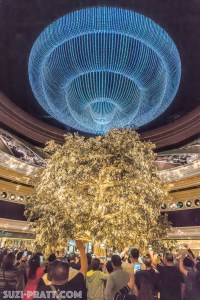 golden tree of prosperity Macau travel photography