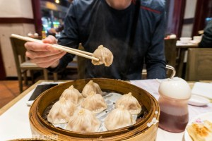 soup dumplings Macau travel photography