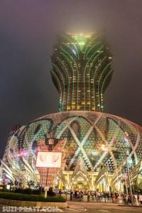 Grand Lisboa Macau travel photography