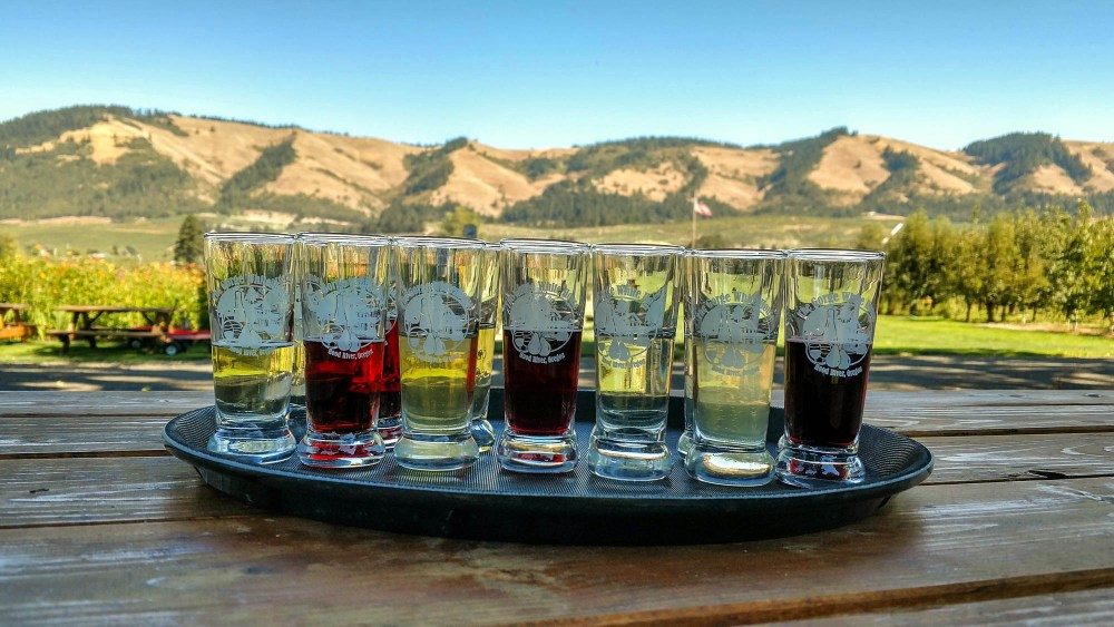 The Gorge White House Cider Tasting Oregon