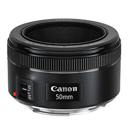 Canon 50mm f/1.8 food photography camera