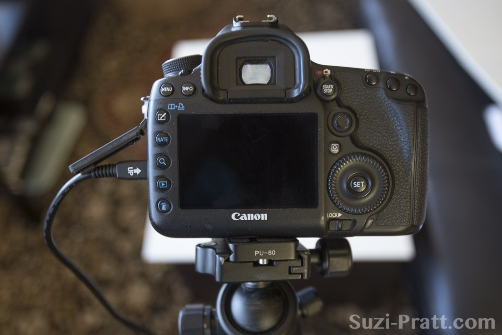 How to shoot tethered with Canon DSLR Controller app