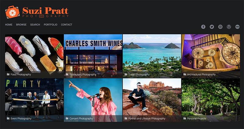 SmugMug Photography Website