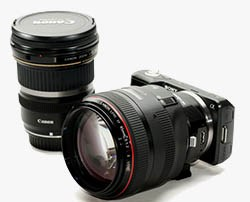Sony Canon lens adapter Metabones