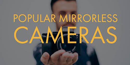 Popular Mirrorless Cameras