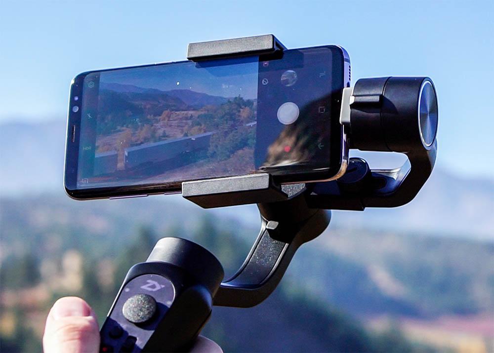 Smartphone gimbal Zhiyun smooth Q