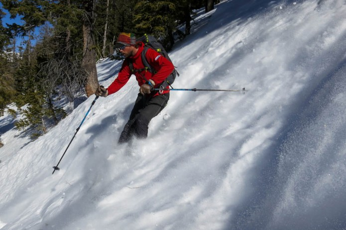 powder skiing idaho backcountry sun valley trekking
