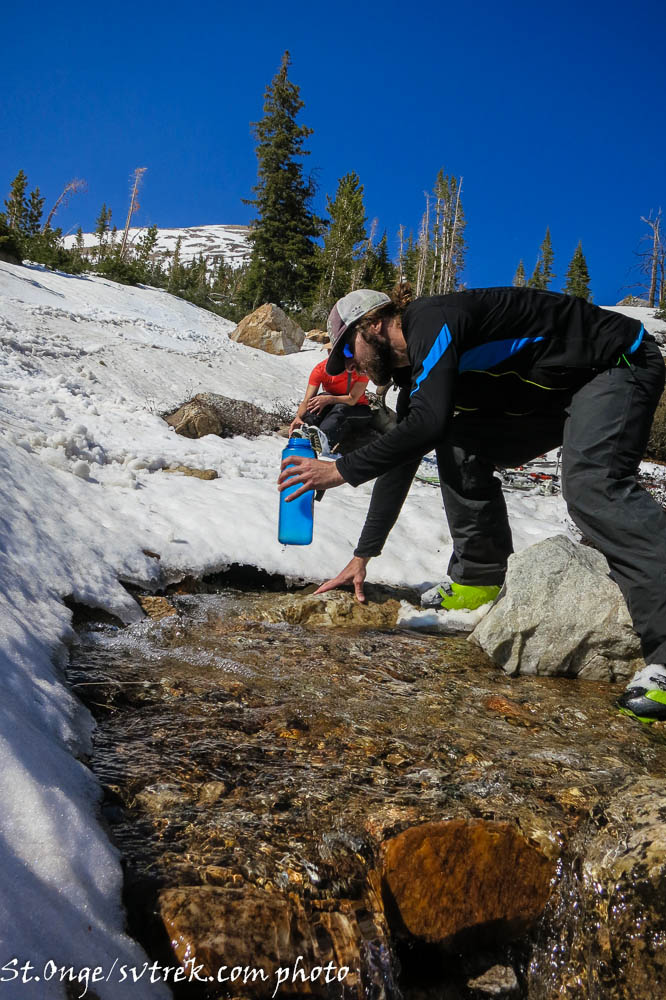 pure mountain water