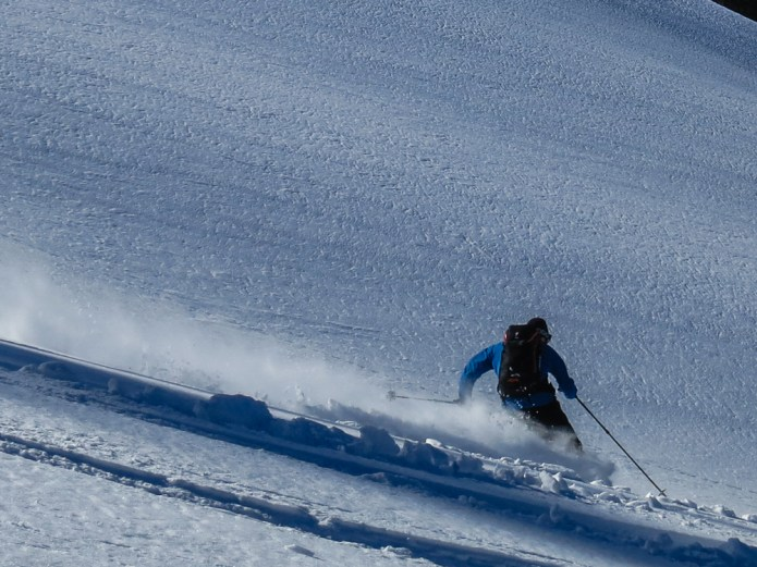 John, cranking through the pow
