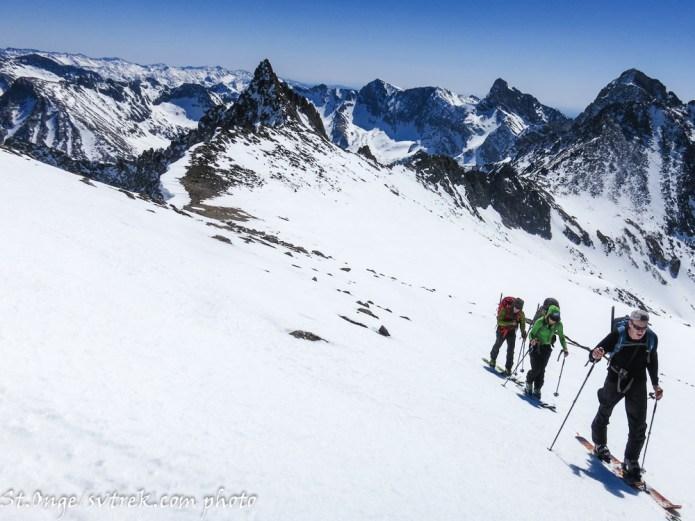 Climbing Goat Peak
