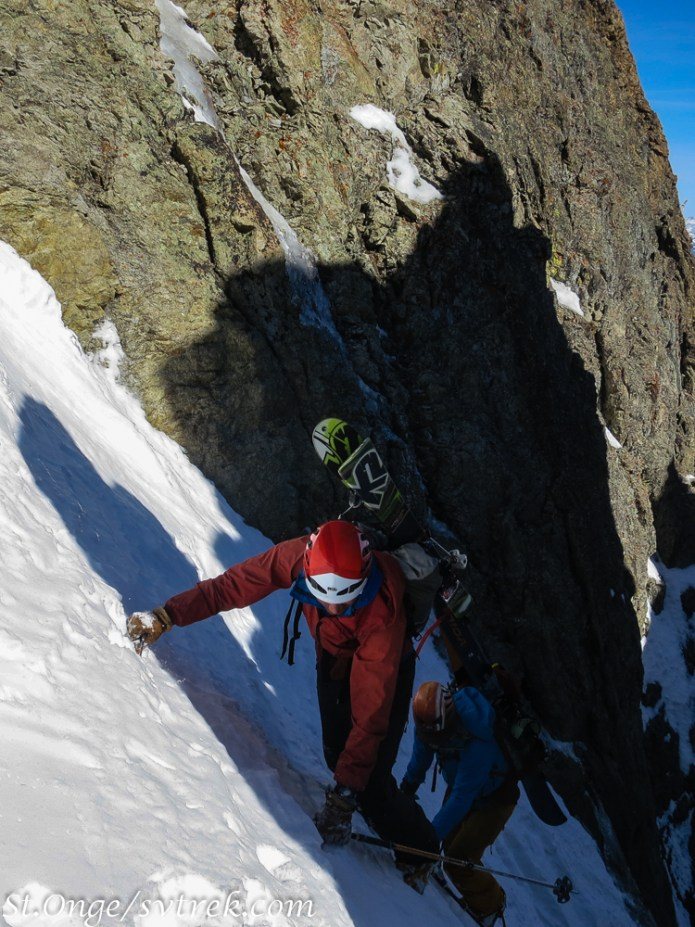 nearing the top of the Sickle