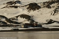 The abandoned whaling station on Deception