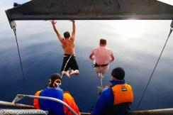 Joe and Wally make the leap!