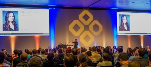 DrupalCon Barcelona 2015, Keynote Day 2 with Nathalie Nahai