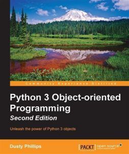 picture of the Python 3 Object-orientated Programming book