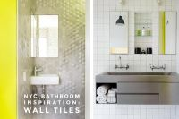 Ceramic, Glass, or Stone? 15 Bathroom Wall Tile Ideas!