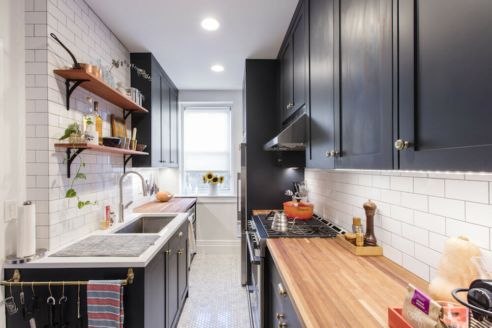 Why a Galley Kitchen Rules in Small Kitchen Design