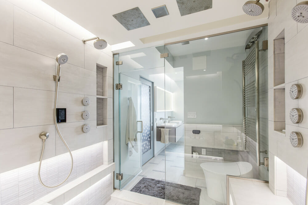 Luxury Shower Systems Are Steaming Up With Ways To Deliver