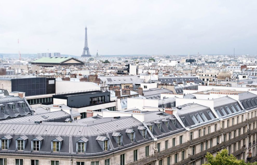 Stunning view from les Galeries Lafayette - Photo Credit: Urban Pixels