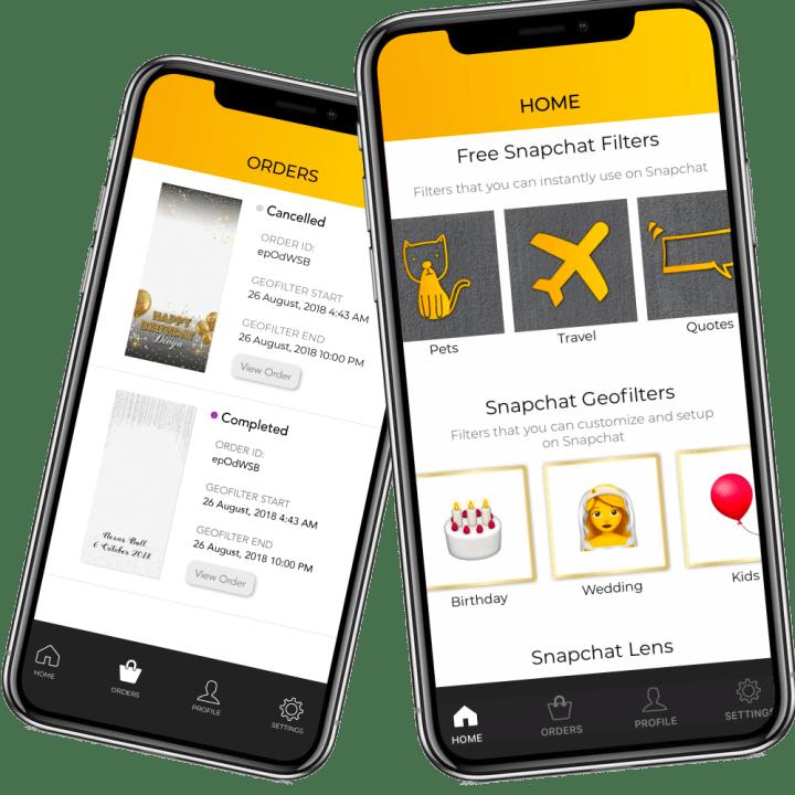 SwipeStudio Snapchat Filters App