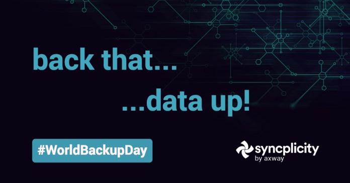 World Backup Day: Back that… data up!