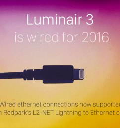 after 7 years of wireless lighting control over wi fi connections we re excited to announce that luminair 3 now supports transmitting network dmx protocols  [ 1200 x 900 Pixel ]