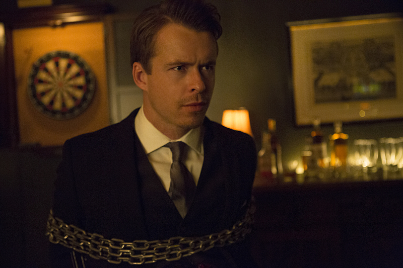 """The Vampire Diaries -- """"Hold Me, Thrill Me, Kiss Me, Kill Me"""" -- Image Number: VD708a_0122.jpg -- Pictured: Todd Lasance as Julian -- Photo: Eli Joshua Adé/The CW -- © 2015 The CW Network, LLC. All rights reserved."""