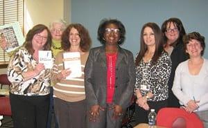 Pat Mason and Molloy College Workshop Participants