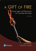 A Gift of Fire: Social, Legal and Ethical Issues for Computing Technology