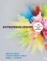 Entrepreneurship: The Practice and Mindset, 1st ed.
